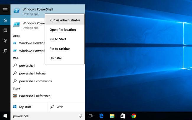Odstranění build-in aplikací ve Windows 10